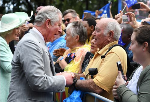 It is Prince Charles' 16th visit to Australia. (9NEWS)