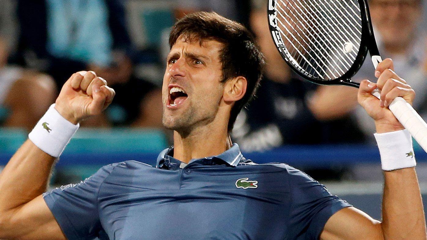 Novak Djokovic defeats Kevin Anderson