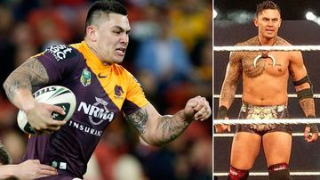 From the NRL to WWE pro wrestling, Daniel Vidot's extraordinary journey