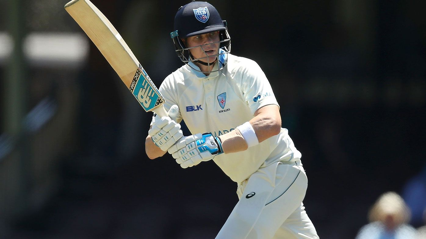 Steve Smith in action for New South Wales.