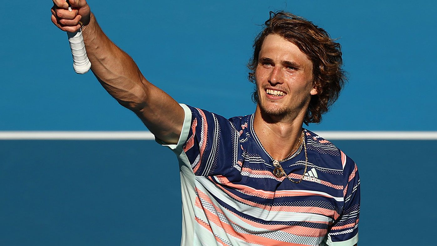 'I was not talking to anybody': How attitude shift helped Alexander Zverev at Australian Open