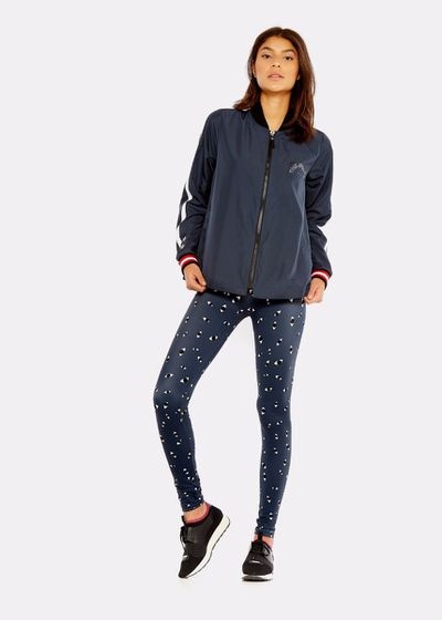 "<a href=""https://www.theupsidesport.com/women/by-category/outerwear/indigo-ash-jacket-indigo-upl1624"" target=""_blank"" draggable=""false"">The Upside Indigo Ash Jacket, $229</a>"