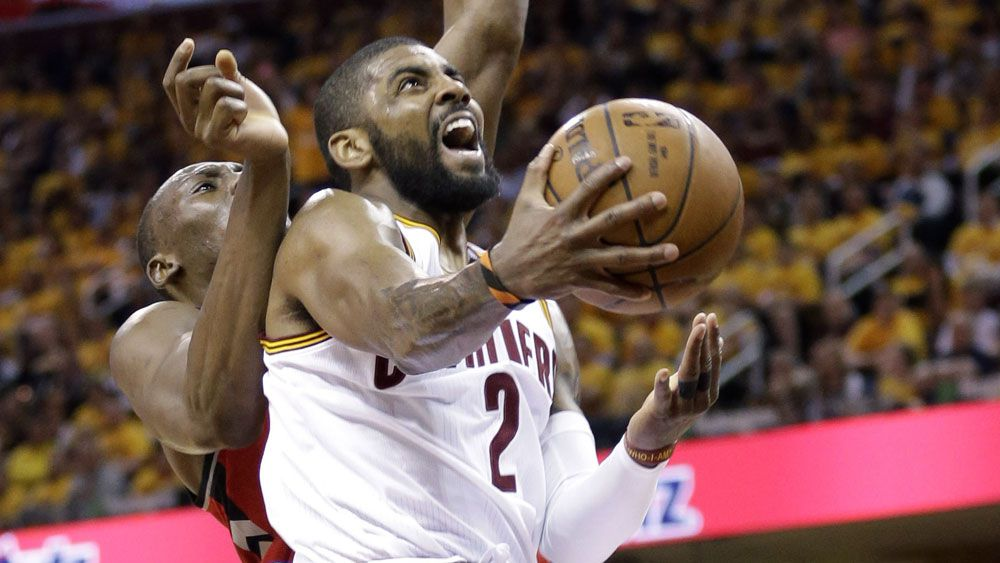 Kyrie Irving starred for the Cavs. (AAP)