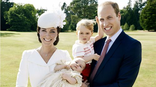 Princess Charlotte christening photos released