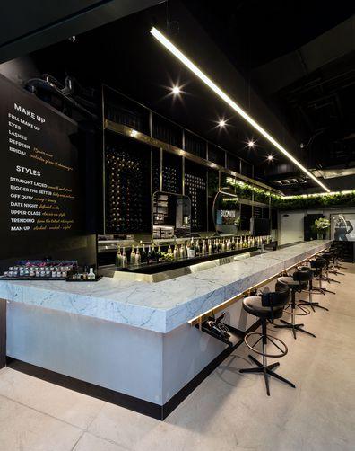 Blown Lux blowdry bar in Barangaroo, Sydney