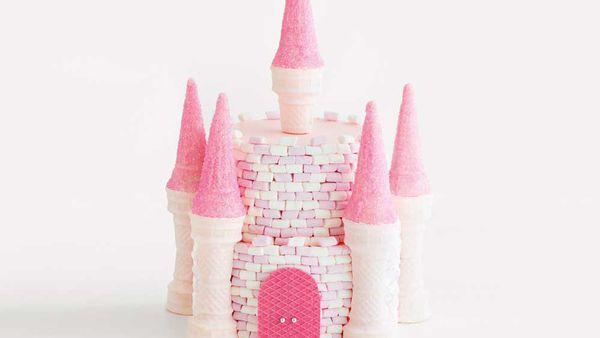 The Magic Kingdom castle birthday cake