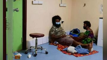 Surging coronavirus numbers have put Papua New Guinea under pressure, as hospitals and morgues reach capacity.