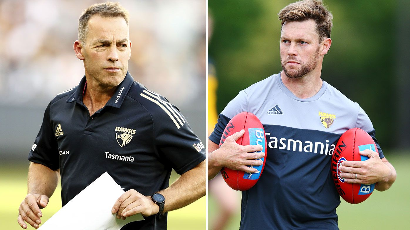 Alastair Clarkson to hand reins to Sam Mitchell as part of Hawthorn's 2023 coaching succession plan