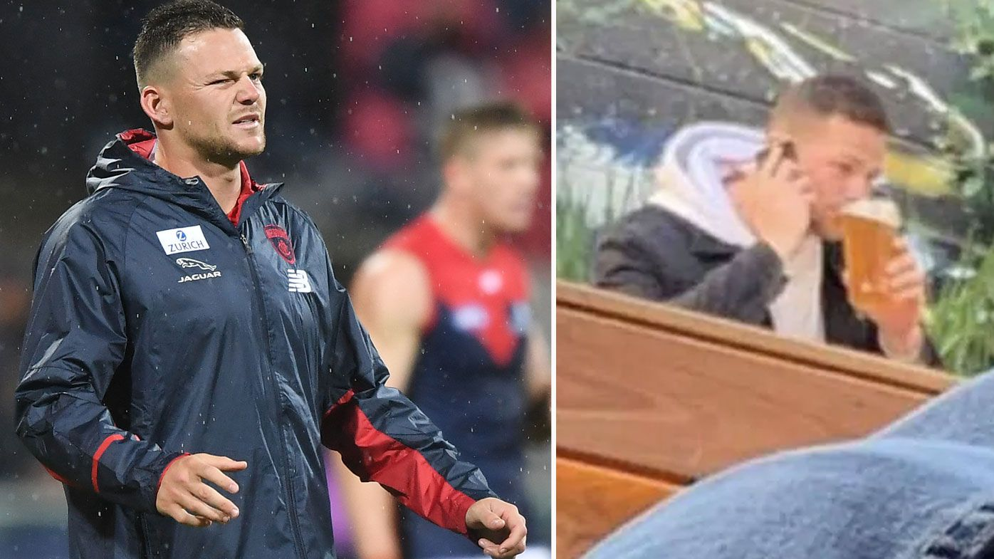 Demons won't sanction Steven May after being caught drinking while injured