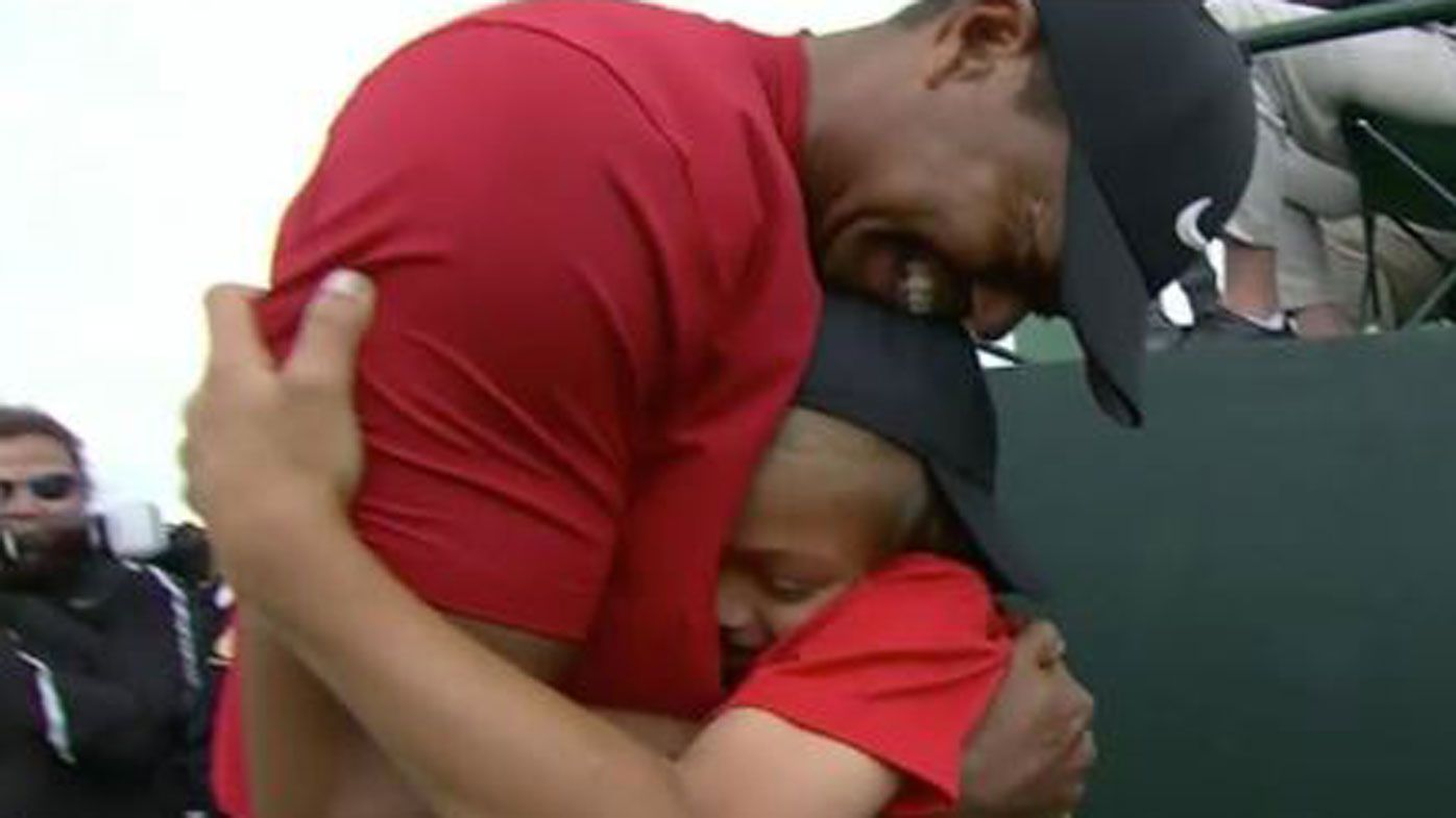 Tiger Woods wins Masters: photo melts world's heart after epic comeback win