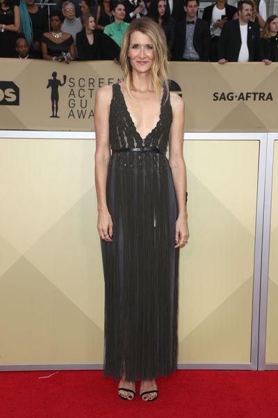 Actress Laura Dern at the 2018 SAG Awards