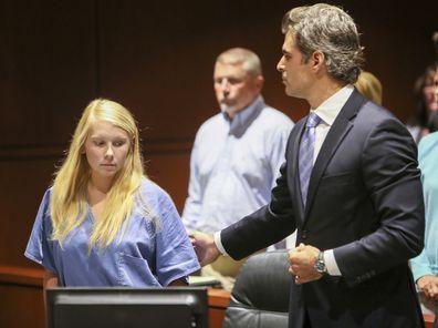 Cheerleader Brooke Skylar Richardson goes on trial for killing newborn daughter