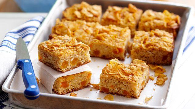 Apricot squares