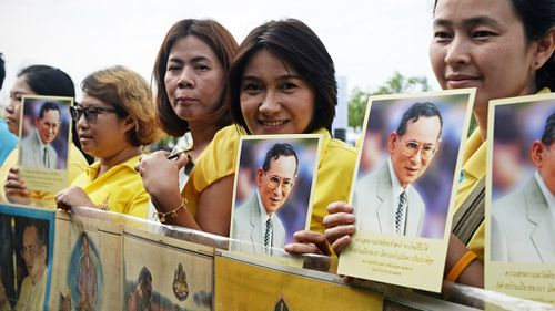 Ailing Thai king reportedly treated for severe infection