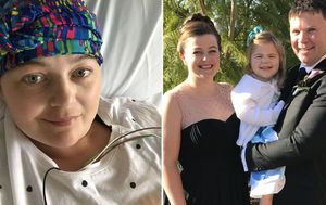 'I don't know if it was there for years': It took a 27-centimetre tumour for Sydney woman to diagnosed with ovarian cancer