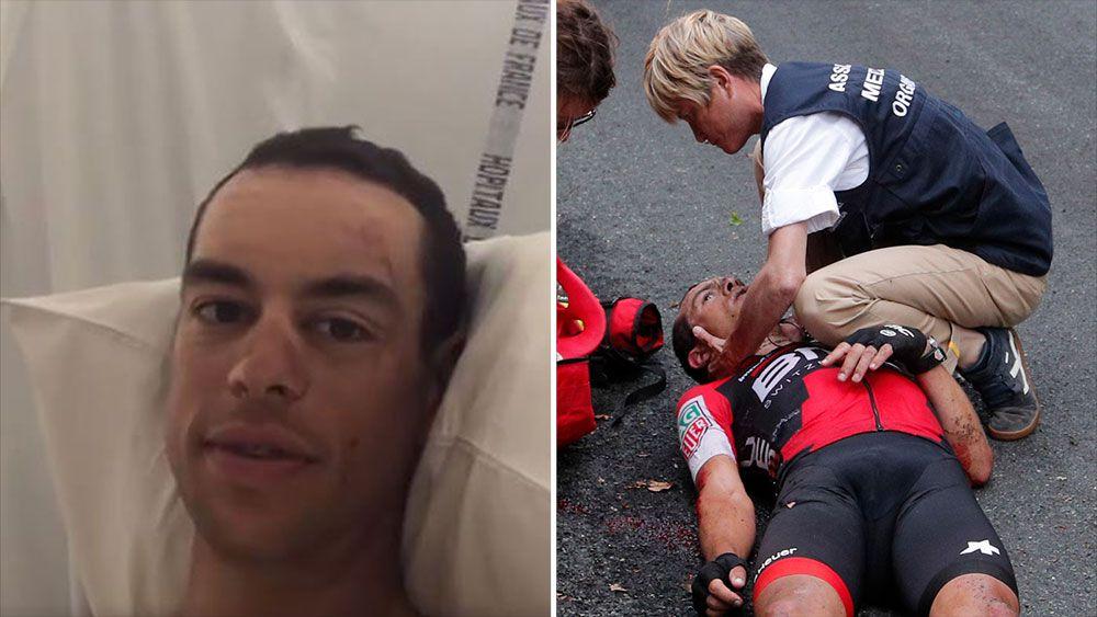 Richie Porte keen to get back on bike in 2017 after Tour de France crash