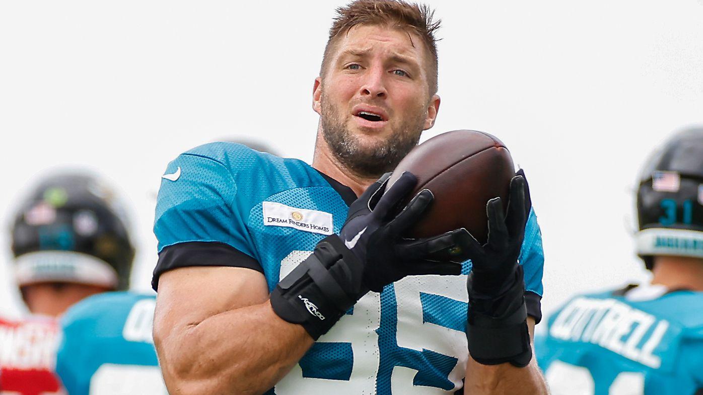 Tim Tebow at the Jacksonville Jaguars