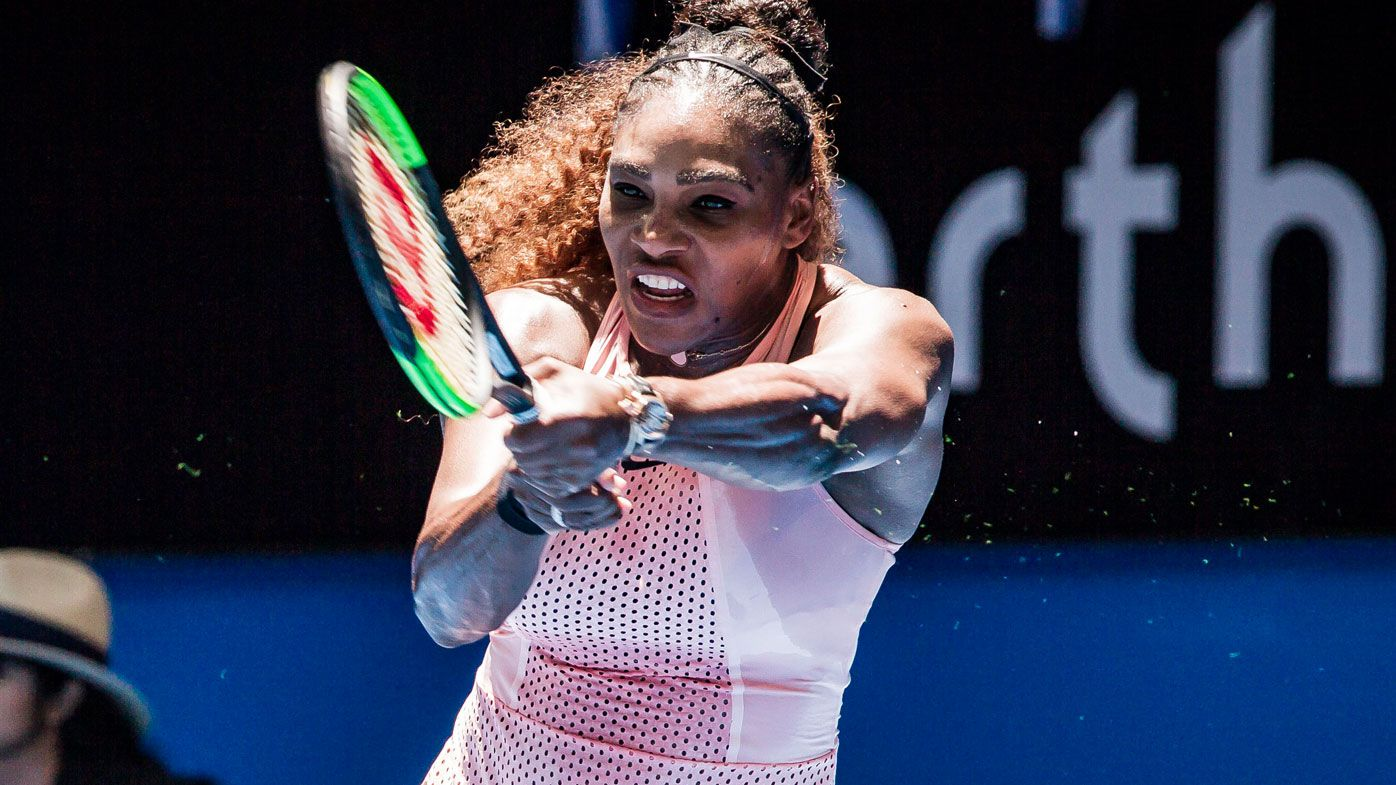 Serena Williams at the Hopman Cup