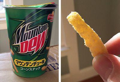 Mountain Dew-flavoured Cheetos