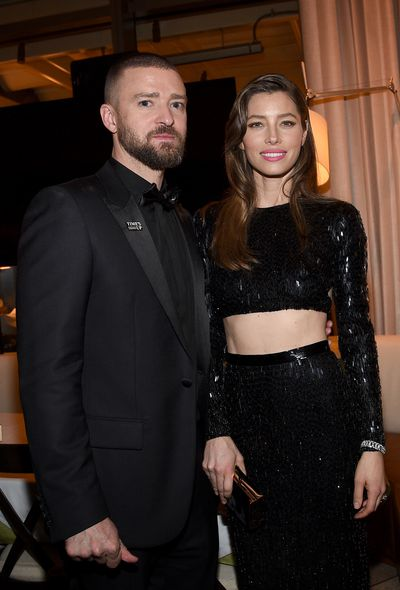 The two cosied up together at a post-Golden Globe Awards party held in January 2018.