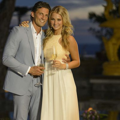 Tim Robards and Anna Heinrich
