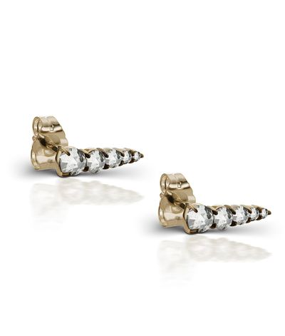 "<a href=""http://www.themaniamania.com/shop/Earrings/hydra-stud-earrings-7"" target=""_blank"">Earrings, $1990, ManiaMania</a>"