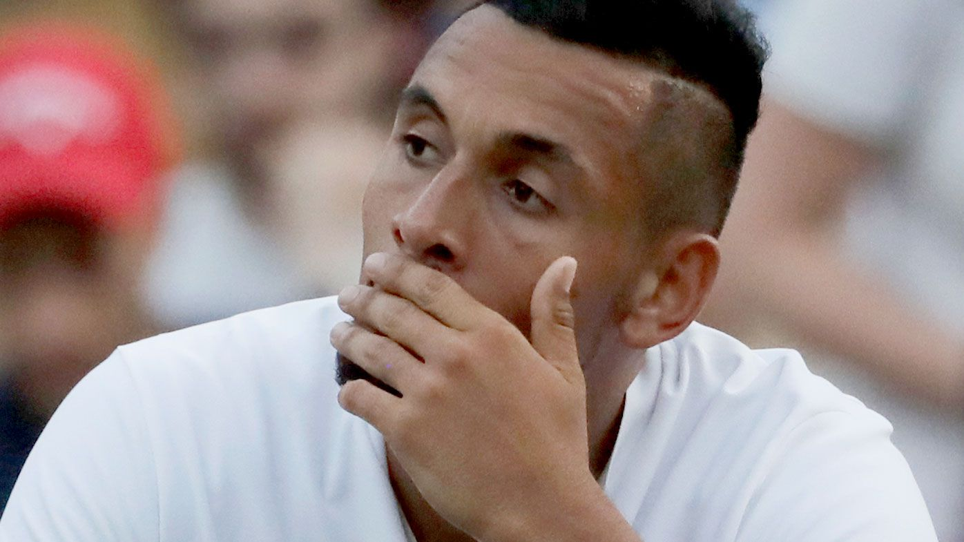 Nick Kyrgios out of Washington Open with injury