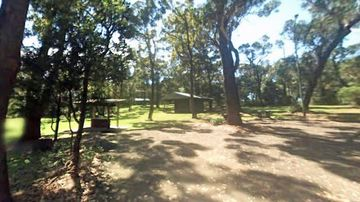 A picnic area at Bulli Tops Lookour near to where the incident occurred.