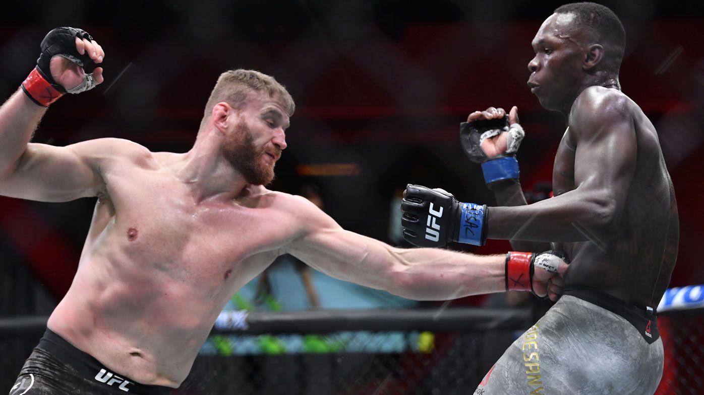 Jan Blachowicz defeats Israel Adesanya to retain UFC light-heavyweight belt – Wide World of Sports