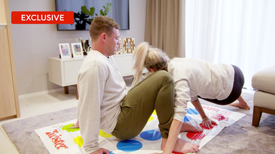 Exclusive: Stacey and Michael's game of Twister takes unexpected turn