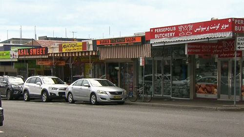 Several witnesses on Memorial Avenue in Merrylands called police following the brawl.