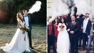 Wedding vaping