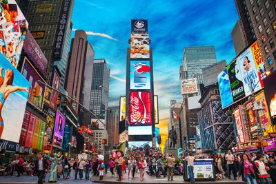 1. Times Square in New York City, New York