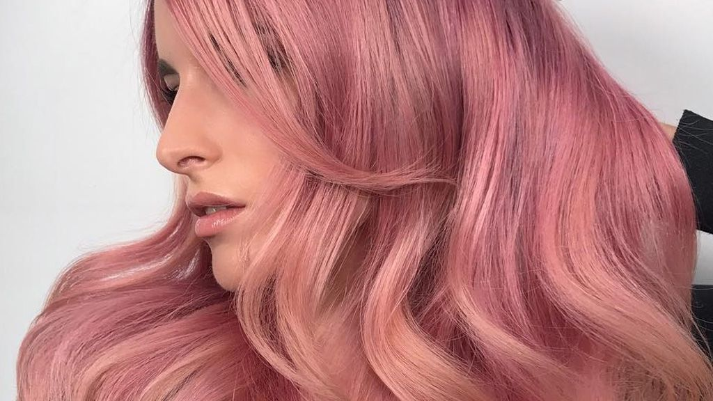 Pink lemonade hair is here