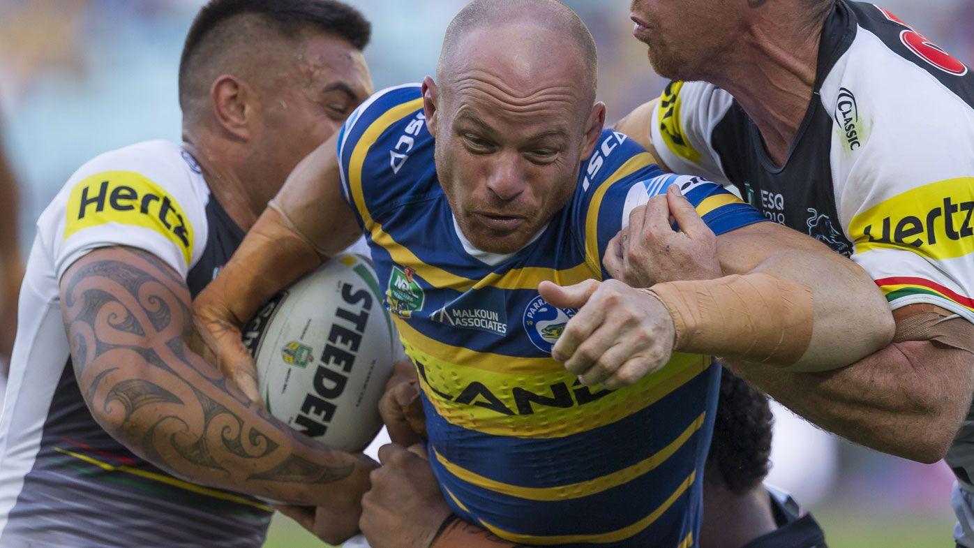 Eels forward Beau Scott retires from NRL