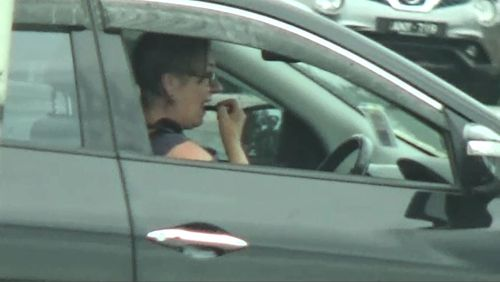 Some drivers eat, text or apply makeup behind the wheel.