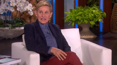 Ellen DeGeneres was uncomfortable hearing about her guest's injury.