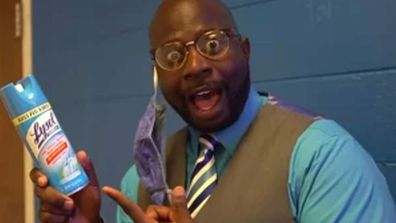 US school principal Dr Quentin Lee in coronavirus parody song  'Can't Touch This'