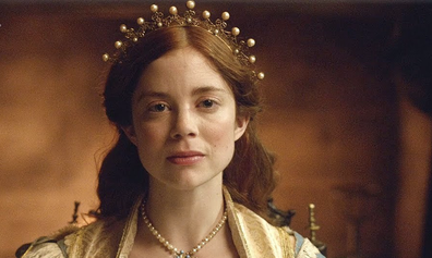 Charlotte Hope stars as Catherine of Aragon.