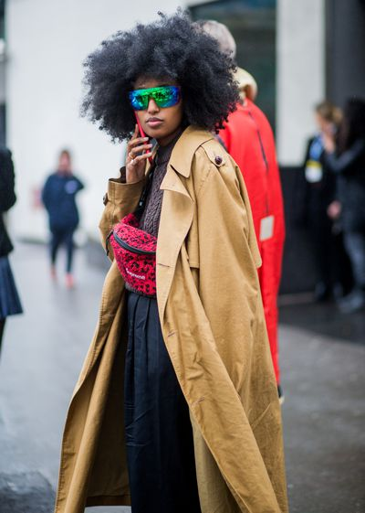 <p>Try the street chic approach of Julia Sarr Samois, which is more Fifth Avenue than Brooklyn back alley</p> <p> </p>