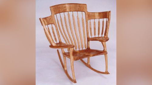 Mr Taylor designed the chair after he and his wife had their third child. (haltaylor.com)