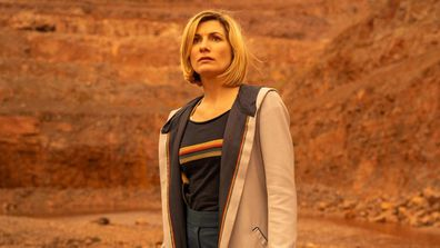 Jodie Whittaker in Dr Who