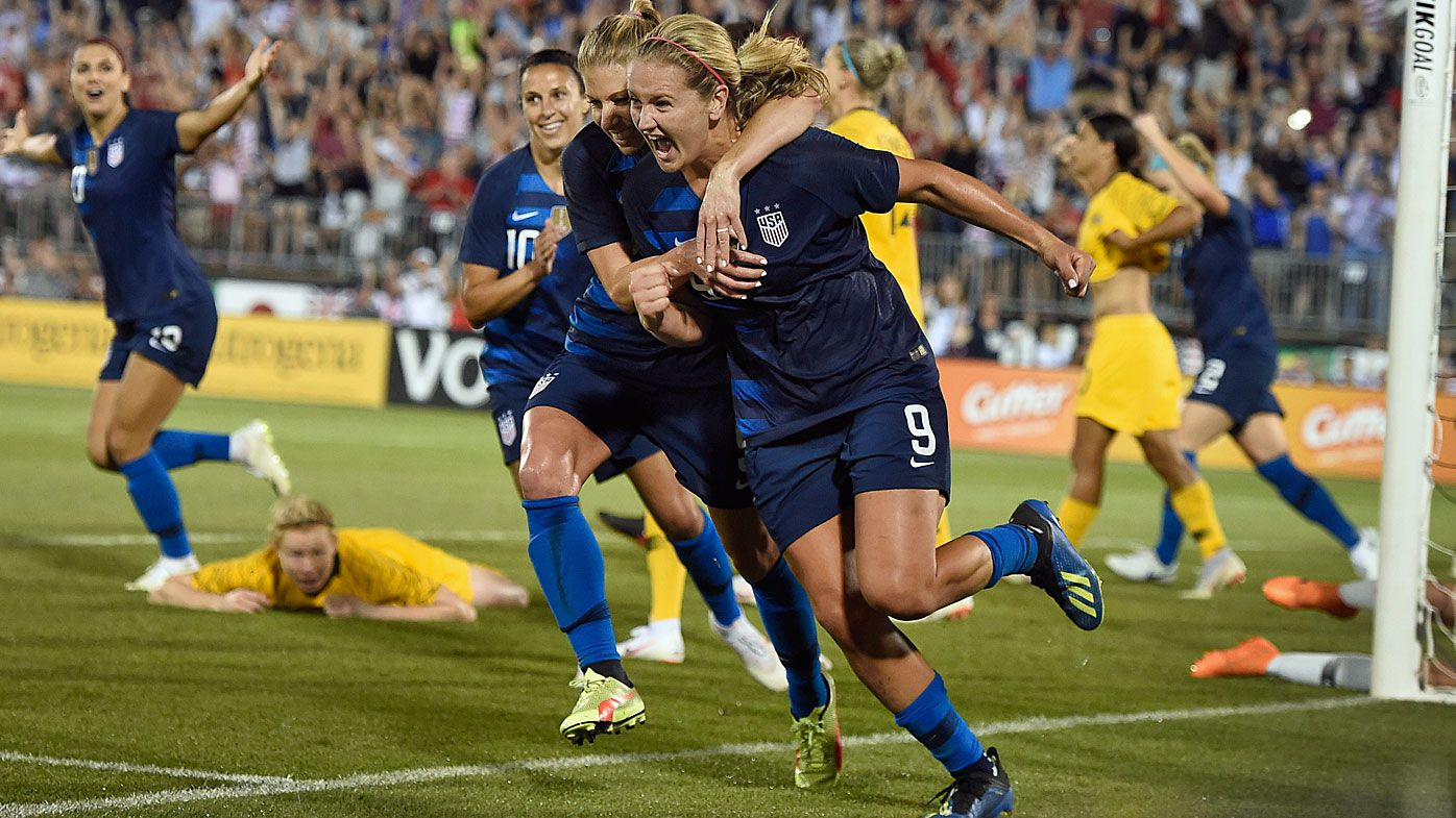 Matildas held to draw against USA despite classy opening goal