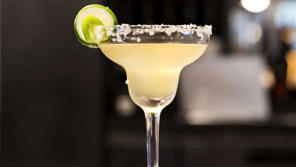 Spicy margarita cocktail