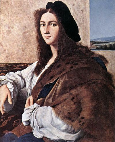 <strong><em>Portrait of Young Man</em> by Raphael</strong>