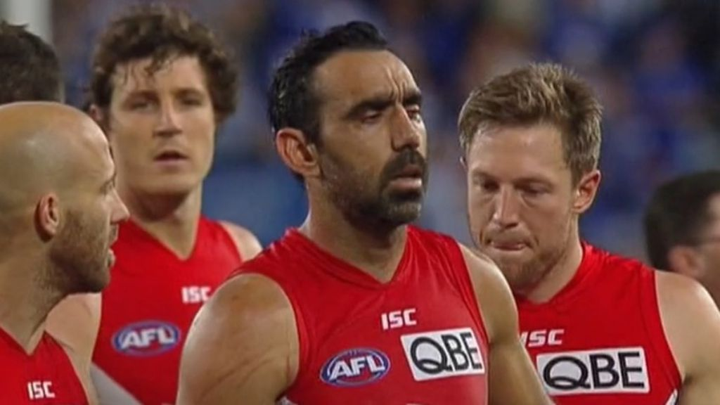 AFL Commission chairman says treatment of Adam Goodes a 'stain for our game'
