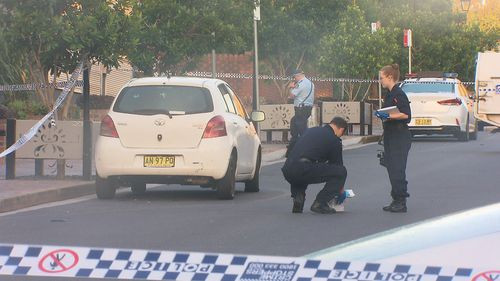 Two friends have been left seriously injured after a knife attack on a night out in Sydney's west.