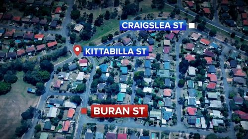 The 16-year-old had been walking along a footpath in Chermside West at about 12.15pm when the man pounced.