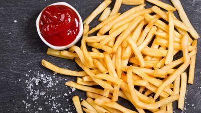 Where to score free french fries today