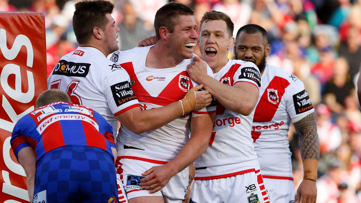 Dragons finally fire up for NRL finals